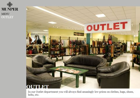 Munper lederwaren outlet inca mallorca adressen for Sessel outlet und fabrikverkauf
